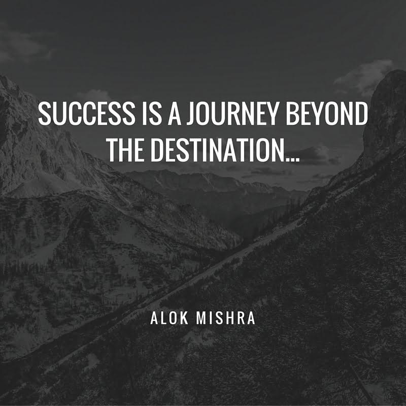Success essay what Alok Mishra