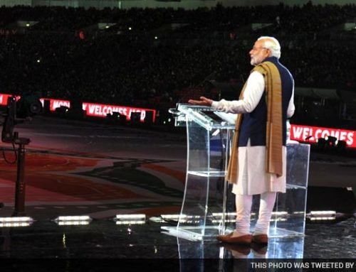 Modi Wembley Speech and Hope For India