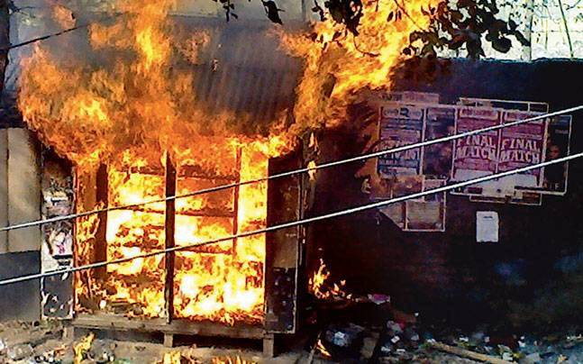 Riot in Malda Kaliachak