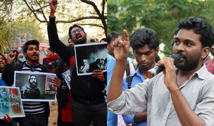 JNU Afzal Guru anti India slogans