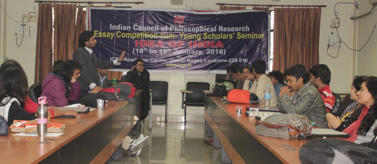 Alok Mishra In Smoking Debate At ICPR