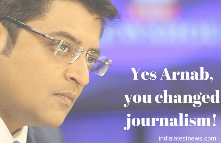 Arnab Goswami and journalism