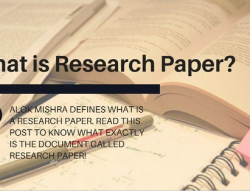 What is a Research Paper? Alok Mishra Defines Research Paper