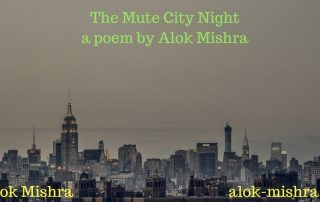 the mute city night poem