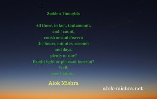 sudden-thought-poem-by-alok-mishra