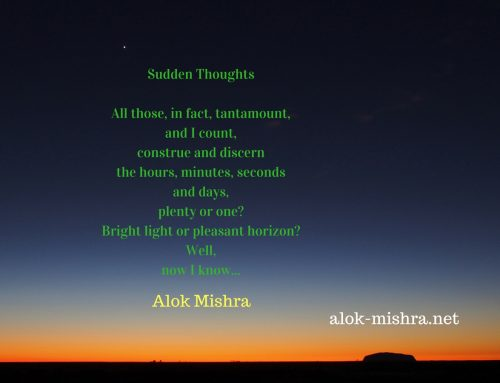 Sudden Thoughts | Poem