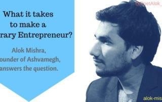 Alok Mishra Literary Entrepreneur
