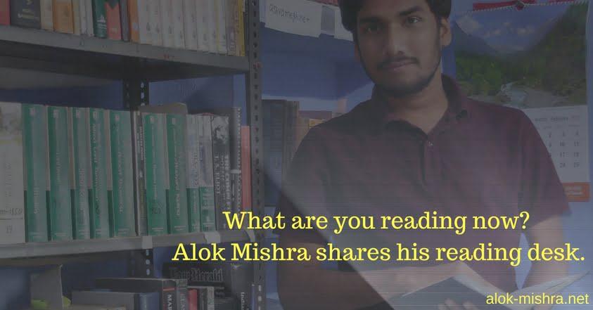 Alok Mishra & his reading list