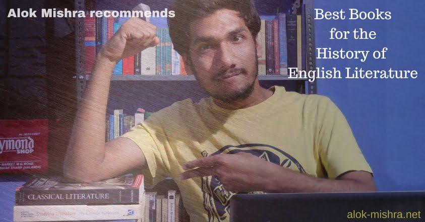 History of English Literature books