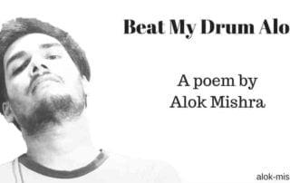 Beat my drum alone poemjpg