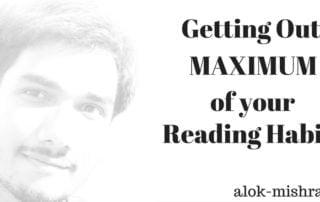 Reading Habits Getting Maximum