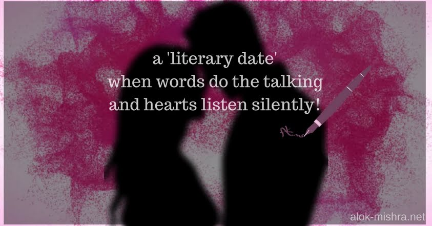 Literary Date When Words Do The Talking