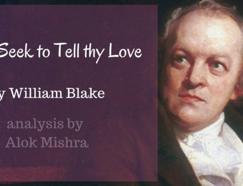 Never Seek to Tell thy Love | William Blake | Analysis