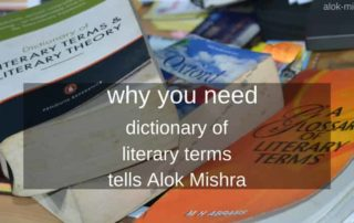 dictionary of literary terms alok mishra