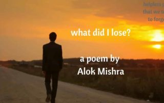 what did I lose poem