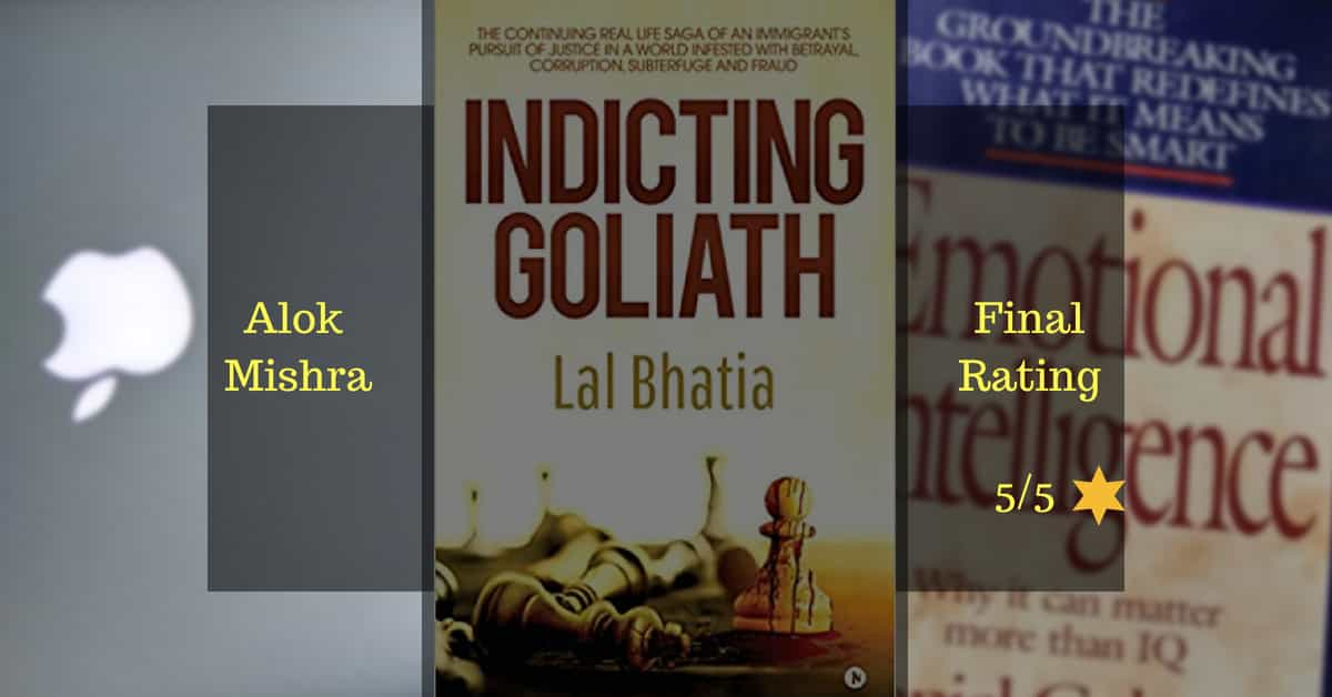 Indicting Goliath Book Review Alok