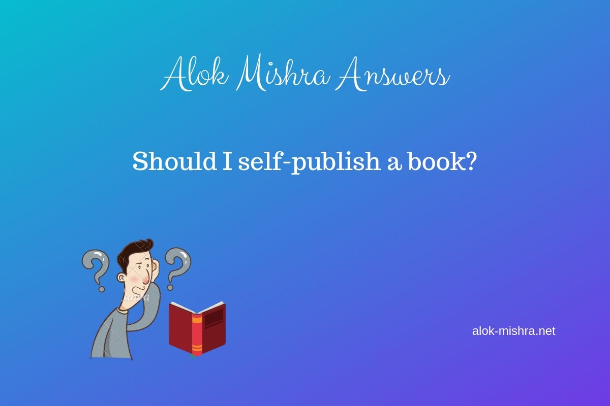Should I Self-publish A Book