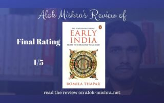 History of early India romila thapar review book