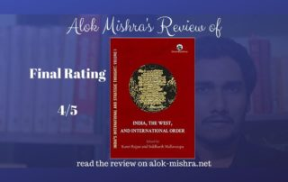 India, the West and International Order book review